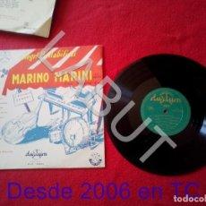 Discos de vinilo: 10 PULGADAS MARINO MARINI ALLEGRI BALLABILI VOL 2 DURIUM CLP 15004 EDICION ESPAÑOLA 250 GRS D1. Lote 211633460