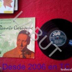 Discos de vinilo: RENATO CAROSONE CAROSELLO CAROSONE 2 CANCION ITALIANA 250 GRS D1. Lote 211634610