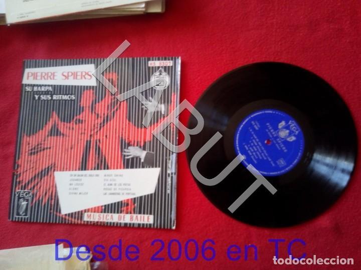 PIERRE SPIERS SU HARPA Y SUS RITMOS 250 GRS D1 (Música - Discos - LP Vinilo - Canción Francesa e Italiana)