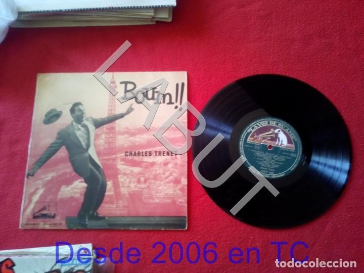 CHARLES TRENET BOUM !! 250 GRS D1 (Música - Discos - LP Vinilo - Canción Francesa e Italiana)
