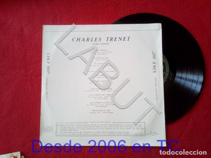 Discos de vinilo: CHARLES TRENET BOUM !! 250 GRS D1 - Foto 2 - 211634795