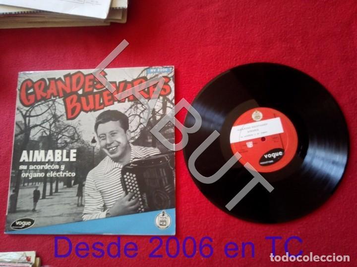 AIMABLE GRANDES BULEVARES HISPA VOX HV 2306 250 GRS D1 (Música - Discos - LP Vinilo - Canción Francesa e Italiana)
