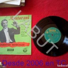 Discos de vinilo: MANTOVANI Y SU ORQUESTA MOMENTOS MUSICALES 250 GRS D1. Lote 211634914
