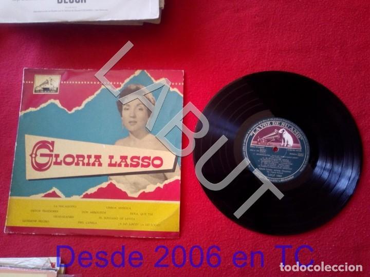GLORIA LASSO FRANCK POURCEL LDLP 1043 250 GRS D1 (Música - Discos - LP Vinilo - Canción Francesa e Italiana)
