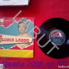 Discos de vinilo: GLORIA LASSO FRANCK POURCEL LDLP 1043 250 GRS D1. Lote 211635025