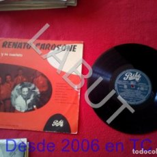 Discos de vinilo: RENATO CAROSONE Y SU CUARTETO CAROSELLO CAROSONE AM 1006 250 GRS D1. Lote 211635064
