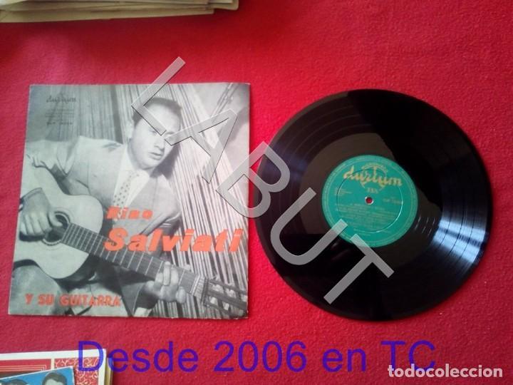 RINO SALVIATI Y SU GUITARRA 250 GRS D1 (Música - Discos - LP Vinilo - Canción Francesa e Italiana)