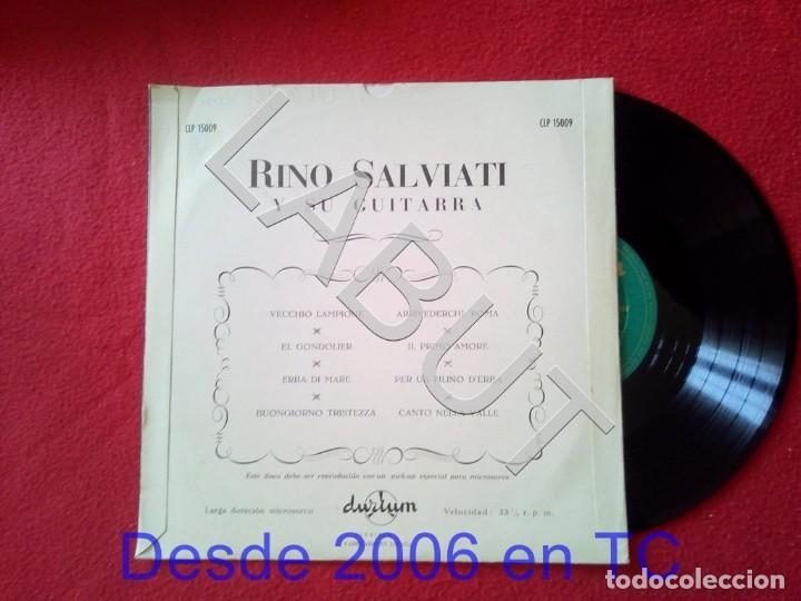 Discos de vinilo: RINO SALVIATI Y SU GUITARRA 250 GRS D1 - Foto 2 - 211635141