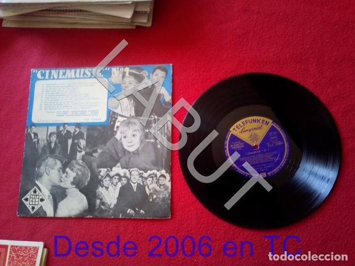10 PULGADAS - CINEMUSIC Nº 1 TELEFUNKEN TLF 25049 250 GRS D1 (Música - Discos - LP Vinilo - Canción Francesa e Italiana)
