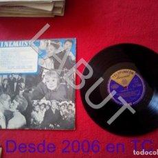 Discos de vinilo: 10 PULGADAS - CINEMUSIC Nº 1 TELEFUNKEN TLF 25049 250 GRS D1. Lote 211635224