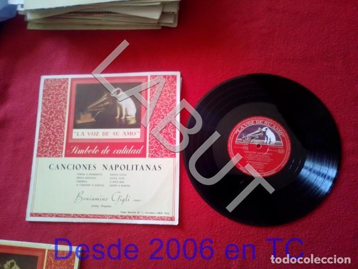 BENIAMINO GIGLI CANCIONES NAPOLITANAS 250 GRS D1 (Música - Discos - LP Vinilo - Canción Francesa e Italiana)