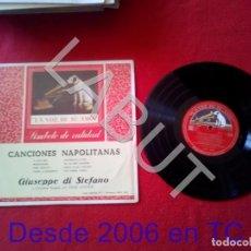 Discos de vinilo: GIUSEPPE DI STEFANO CANCIONES NAPOLITANAS 250 GRS D1. Lote 211635405