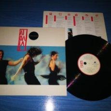 Discos de vinilo: MECANO AIDALAI LP VINILO DEL AÑO 1991 CONTIENE 12 TEMAS NACHO CANO ANA TORROJA JOSE MARIA CANO. Lote 211635569