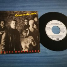 Discos de vinilo: ORQUESTA MONDRAGON CORAZON DE NEON SINGLE VINILO AÑO 1987 JOAQUIN SABINA 2 TEMAS. Lote 211638655