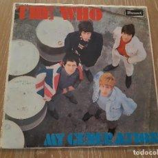 Discos de vinilo: PRIMER ALBUM DE LA BANDA BRITANICA DE ROCK, THE WHO- UK FIRST PRESS ( EDITADO EN DICIEMBRE DE 1965 ). Lote 211641290