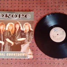 Discos de vinilo: EUROPE - THE FINAL COUNTDOWN - MAXI - SPAIN - EPIC - L -. Lote 211641439