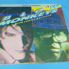 Discos de vinilo: THE BLOW MONKEYS - WITH CURTIS MAYFIELD. Lote 211642203