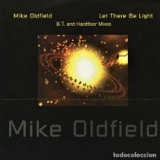 Discos de vinilo: MAXI MIKE OLDFIELD, LET THERE BE LIGHT, REMIXES, UK 1995, WEA 0630-11701-0, (VG+_VG+). Lote 211643284