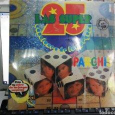 Disques de vinyle: LAS 25 SUPERCANCIONES DE LOS PEQUES DOBLE LP PARCHIS PRECINTADO. Lote 211647155