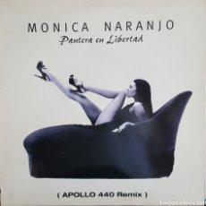Discos de vinilo: MAXI / MONICA NARANJO / PANTERA EN LIBERTAD (APOLLO 440 REMIX) COLUMBIA 665440 6 / 1997. Lote 211653668