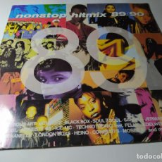 Discos de vinilo: LP - VARIOUS – NONSTOP HITMIX 89/90 - ZYX 20156-1 (VG+/ VG+) GER 1989. Lote 211663060