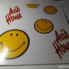 Discos de vinilo: LP - VARIOUS – ACID HOUSE - BASIC-LP-001 (VG+/ VG+) SPAIN 1989. Lote 211663776