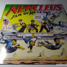 Discos de vinilo: LP - NEWCLEUS – JAM ON REVENGE - SVLP 6600 (VG+/ VG) UK 1984. Lote 211664928