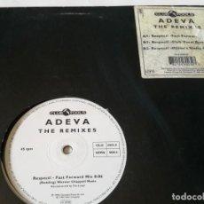 Discos de vinilo: ADEVA - RESPECT! (THE REMIXES) - 1994. Lote 211664968