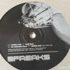 Discos de vinilo: FREAKS - MINDLESS FUNK / MILWAUKEE STANCE - 1996. Lote 211665005