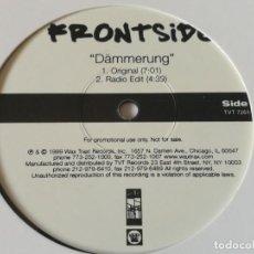 Discos de vinilo: FRONTSIDE - DÄMMERUNG - 1999. Lote 211665515
