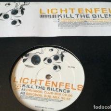Discos de vinilo: LICHTENFELS - KILL THE SILENCE - 2003. Lote 211665714