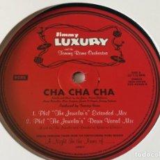 Discos de vinilo: JIMMY LUXURY & THE TOMMY ROME ORCHESTRA - CHA CHA CHA - 1997. Lote 211665769