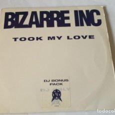 Discos de vinilo: BIZARRE INC - TOOK MY LOVE - 1993 - 3 VINYLS. Lote 211665866