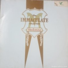 Discos de vinilo: MADONNA - THE IMMACULATE COLLECTION - PORTADA Y DISCO DOBLE - EDICIÓN ALEMANA - 1983. Lote 211668426
