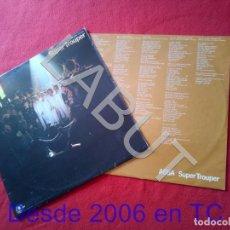 Discos de vinilo: LP ABBA SUPER TROUPER ENCARTE 250 GRS D1. Lote 211670684