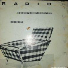 Discos de vinilo: SINGLE RADIO FUTURA LA ESTATUA DEL JARDÍN BOTÁNICO / ROMPEOLAS. Lote 211671643