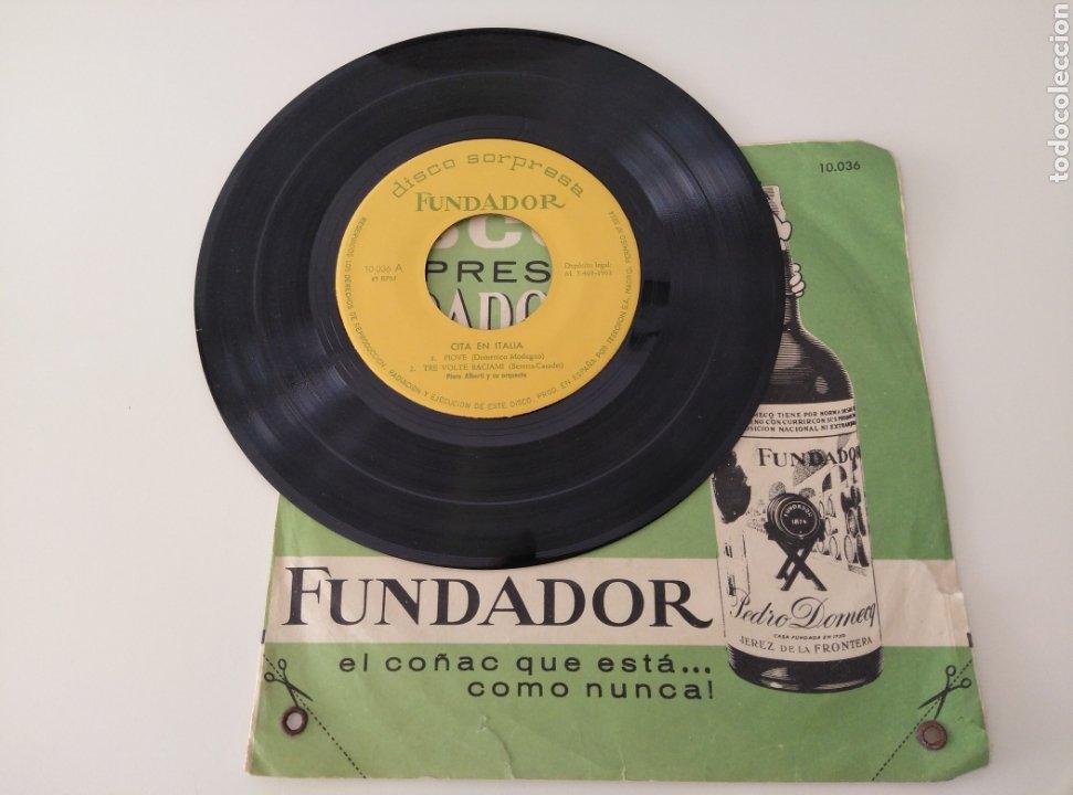 DISCO SORPRESA FUNDADOR. CITA EN ITALIA. N° 10036 (Música - Discos - Singles Vinilo - Otros estilos)