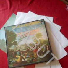 Discos de vinilo: 6 LP MUSICA DE ESPAÑA EN ESTUCHE 2,5 KILOS D1. Lote 211674301