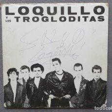 Discos de vinilo: LOQUILLO Y TROGLODITAS: MIS PROBLEMAS CON ...(CARPETA PROMOCIONAL) FIRMADA!!!! JOYA DE COLECCIONISTA. Lote 211677631