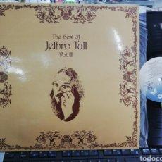 Dischi in vinile: THE BEST OF JETHRO TULL VOL.III ESPAÑA 1981 EN PERFECTO ESTADO. Lote 211679558