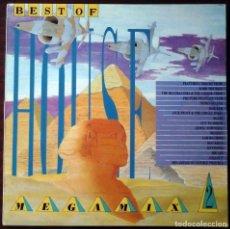 Discos de vinilo: THE BEST OF HOUSE - MEGAMIX 2 (MICHAEL MENSON) INGLATERRA, 1988. Lote 211679846