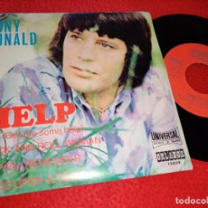 Discos de vinilo: TONY RONALD HELP/ROCK AND ROLL WOMAN/DO YOU REMEMBER/ONCE UPON A TIME EP 1971 ORLADOR. Lote 211683864