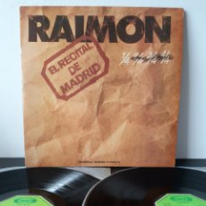 Discos de vinilo: RAIMON. RECITAL DE MADRID. 1976. MOVIEPLAY. CON LIBRETO.. Lote 211684378