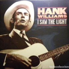 Discos de vinilo: HANK WILLIAMS – I SAW THE LIGHT -LP-. Lote 211684934