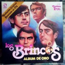 Discos de vinilo: LOS BRINCOS – ALBUM DE ORO 2XLP, SPAIN 1981 CARPETA Y DISCO DOBLE - BUEN ESTADO. Lote 211685296