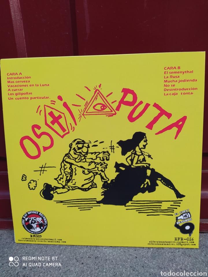 Discos de vinilo: Ostia puta - joder ya! . LP vinilo nuevo. Punk - Foto 2 - 211691781