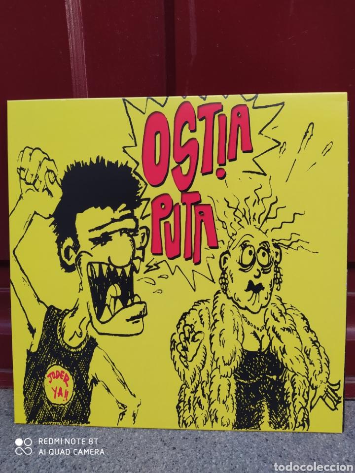 OSTIA PUTA - JODER YA! . LP VINILO NUEVO. PUNK (Música - Discos - LP Vinilo - Punk - Hard Core)