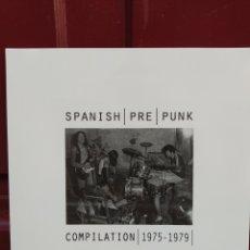 Discos de vinilo: SPANISH PRE PUNK. COMPILATION 1975 - 1979. LP VINILO NUEVO PRECINTADO. Lote 211694114