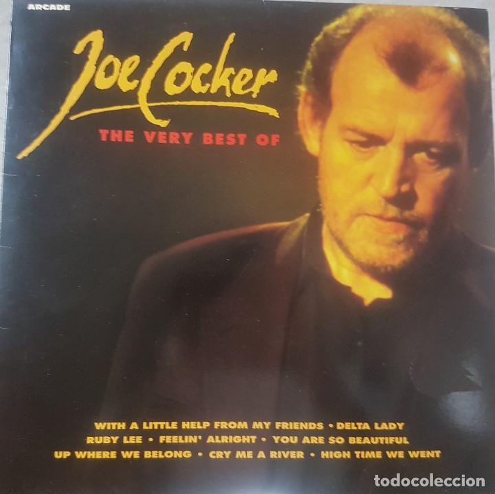 THE VERY BEST OF JOE COCKER - BUEN ESTADO - ARCADE 1991 (Música - Discos - LP Vinilo - Pop - Rock Extranjero de los 90 a la actualidad)