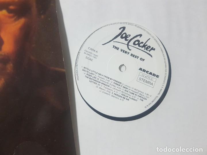 Discos de vinilo: The very best of Joe Cocker - Buen estado - Arcade 1991 - Foto 3 - 211696049